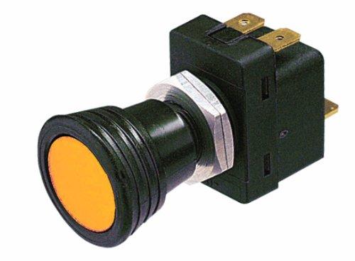 HELLA H61778011 12 V Amber SPST Pull Switch