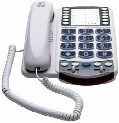 NEW CLARITY Amplified Large-Button Corded Home Telephone System Photo Phone