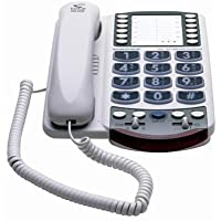 Clarity Amplified Corded Big-Button Telephone with Clarity Power Technology (XL40)