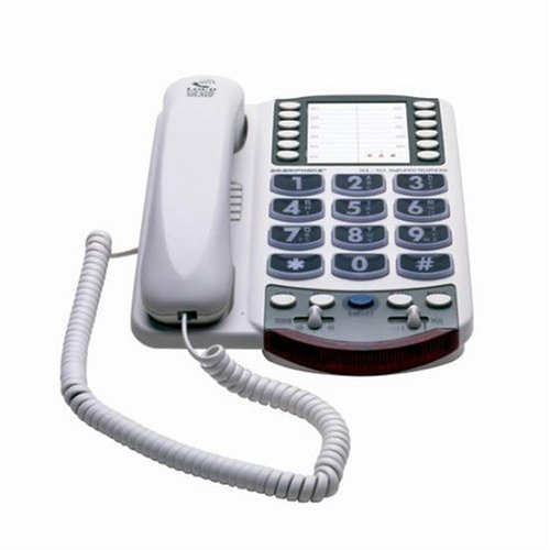 Ameriphone XL50 Phone with 60-dB Amplification and Large Keypad (Ameriphone Xl 50 Amplified Telephone)