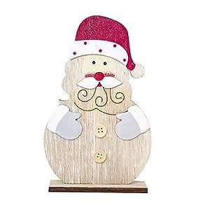 BBsmile Ornamentos Navidad Monigote de Nieve Escritorio Oficina ...