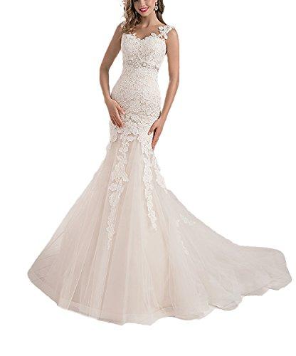 Tulle Mermaid Dress - 6