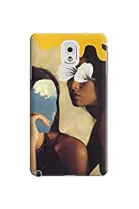 LarryToliver Design Customizable Creative Collage Arts For Girl pictures Logo samsung note 3 Plastic Hard Cover Case #2