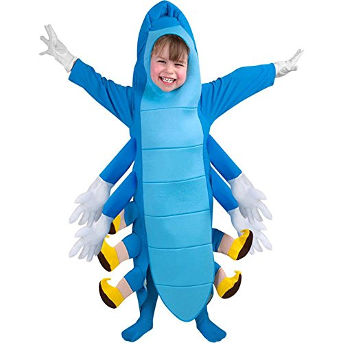 Wonderland In Alice Blue Caterpillar Costume (Child's Toddler Caterpillar Costume (Size:)