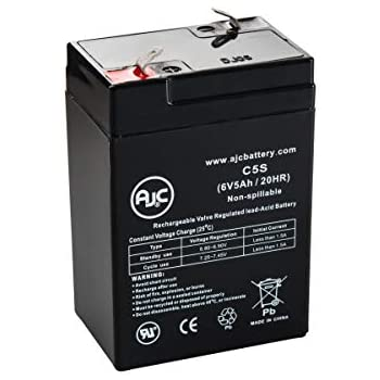 Power-Sonic PS-612 6V 1.3Ah Sealed Lead Acid Battery This is an AJC Brand Replacement