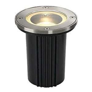 SLV 228430 DASAR EXACT GU10, round, ground recessed lamp