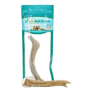 usa 8 9 inch deer antler dog chew by best bully sticks 1 antler. Black Bedroom Furniture Sets. Home Design Ideas
