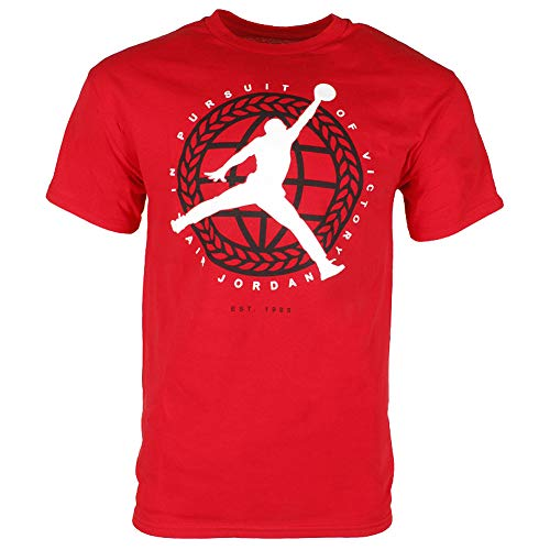 Nike Men's Jordan In Pursuit Of T Shirt Gym Red/White X-Large (Nike Graphic Tshirts For Men)