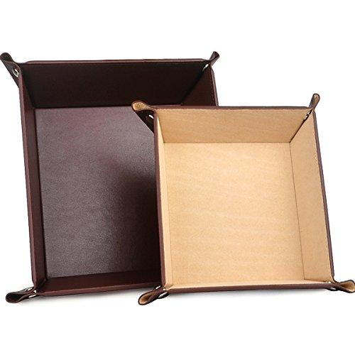 Leather Jewelry Storage Catchall coffee product image