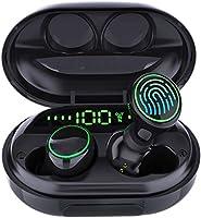 ワイヤレス Bluetooth イヤホン 6Dステレオサウンド ぶるーとーすイヤホン ハンズフリー通話 ブルートゥース イヤフォン 高音質 LEDディスプレイ電量表示 超大容量ケース付き 長時間再生 イヤホン 自動ペアリング...