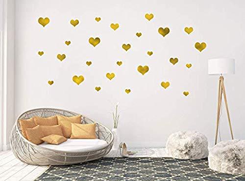 Vinilo Decorativo Pared [7N7L455D] corazones