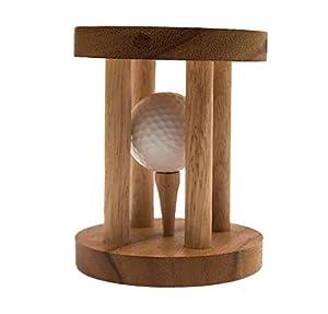 Golfball im Knast, ein lustiges Geschenk nicht nur für Golf-Fans, Holzspiel,...