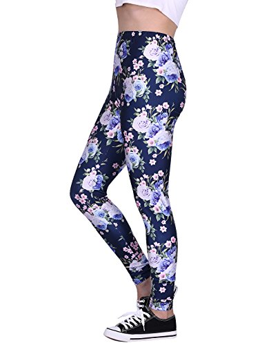 Women's Leggings Graphic Print Tights Fun Digital Design Holiday Elastic Pants