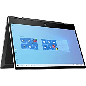 HP 2020 Newest Pavilion X360 2-in-1 Convertible 14″ HD Touch-Screen Laptop, 10th Gen Intel Core i3-1005G1, 8GB Ram, 128GB Ssd, Wifi, Webcam, Win 10 S