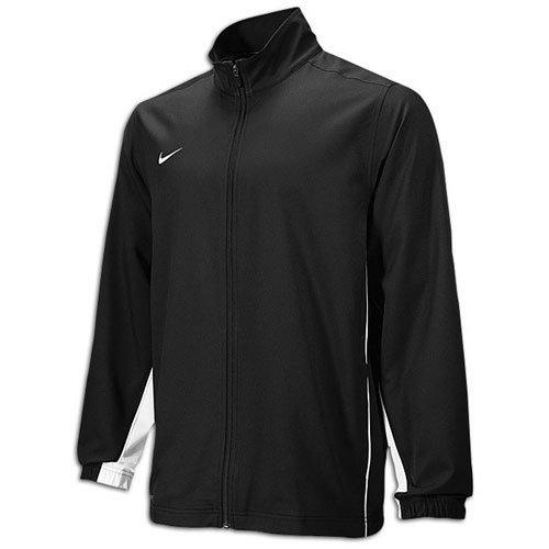Nike Men's Core 2.0 Team Woven Jacket (XLarge, black) (Nike Jacket Mens Team Woven)