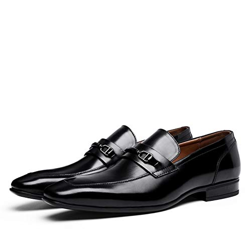 Ruanyi Leather Oxford Shoes, Four Seasons First Business Layer Leather Shoes Business First Casual Work Leather Dress Single Shoes for Men (Color : Black, Size : 44-EU) 44-EU|Black B07GWHYPTJ 018dd2