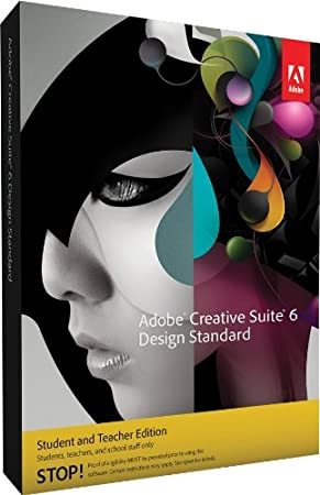 Adobe CS6 Design Standard Student and Teacher Edition