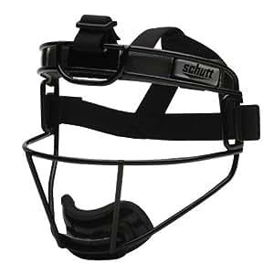 Schutt Varsity Softball Titanium Fielder's Guard (Black)