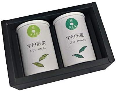 [きよ泉] 宇治茶ギフトセット 煎茶 玉露 80g お茶 緑茶 京都 茶葉 宇治 贈り物 敬老の日 秋の贈り物 秋ギフト