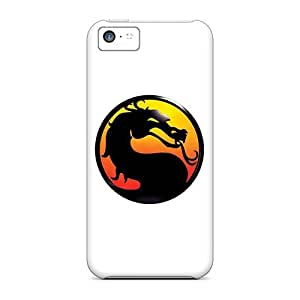 Iphone 5c PjD34827cLQK Mortal Kombat Logo Cases Covers. Fits Iphone 5c