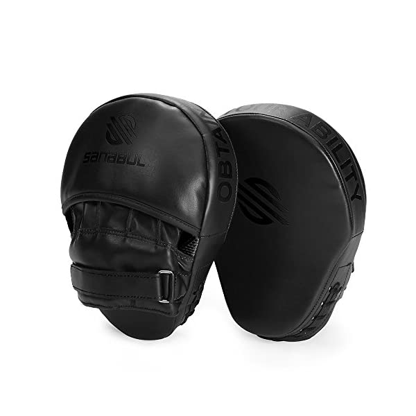 Sanabul Essential Curved Boxing MMA Punching Mitts 2
