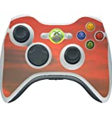 Red Sky Xbox 360 Wireless Controller Vinyl Decal Sticker Skin by Moonlight Printing