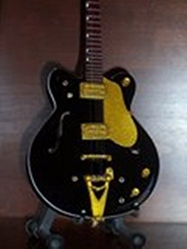 Mini Black Guitar THE BEATLES GEORGE HARRISON Country Gentleman ()