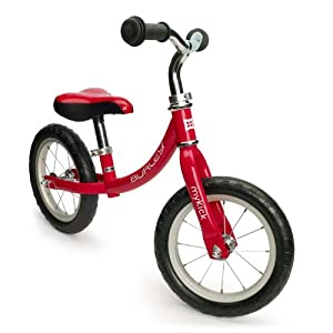 Burley Design MyKick Balance Bike, Fire Truck Red