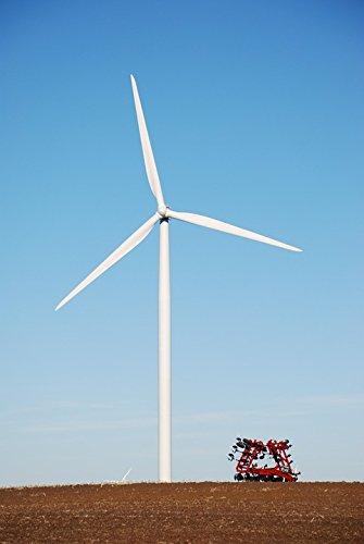 (Home Comforts Peel-n-Stick Poster of Generator Windmill Wind Energy Turbine Wind Machine Poster 24x16 Adhesive Sticker Poster Print)