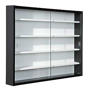 Links Collecty 99800800  - Vitrina de coleccionista ( 80 x 9,5 x 60 cm), color blanco y negro