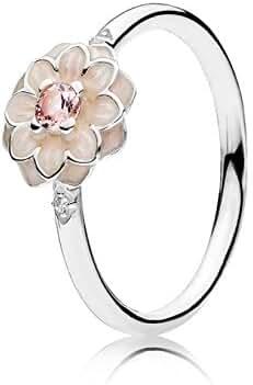 Pandora 190985NBP-52 Blooming Dahlia Ring, Size 6