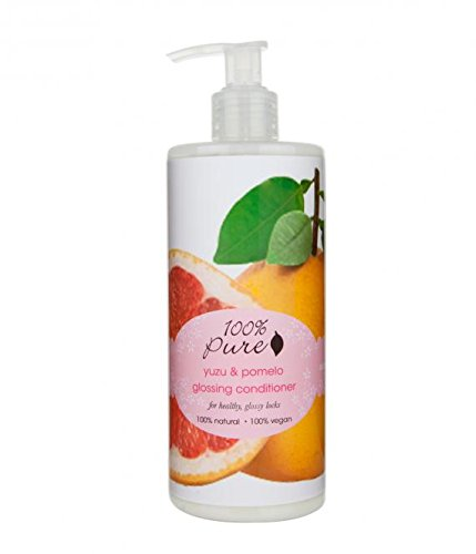 100% Pure Yuzu and Pomelo Glossing Conditioner, 13.0 Fluid Ounce