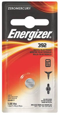 Energizer Battery 392bp Watch (Energizer EVE392BPZ 392BPZ 392BP Button Cell Batteries, 1.5 V, 6/Pack (Eveready # 392) (Pack of 6))