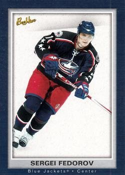 Sergei Fedorov 2005 Bee Hive Hockey Card #27 (NM/M) Columbus Blue Jackets