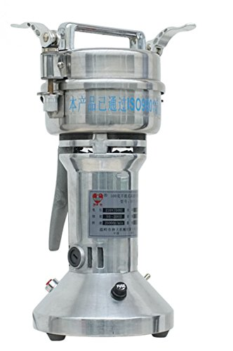 MXBAOHENG DFT-100 Electric Portable 100g Universal Mill Grinder Household Mill Powder Machine (110V) by MXBAOHENG