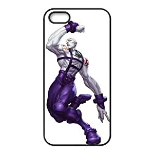 iPhone 5 5s Cell Phone Case Black necro street fighter Popular games image WOK0713967