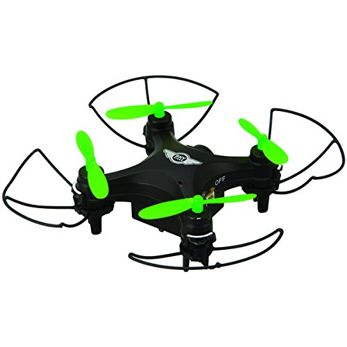 SkyRiderTM DRW417B Mini Glow Pro Quadcopter Drone with Wi-FiR Camera