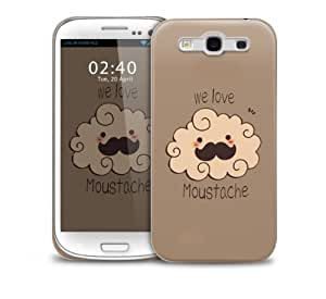 Brown Tash Samsung Galaxy S3 GS3 protective phone case