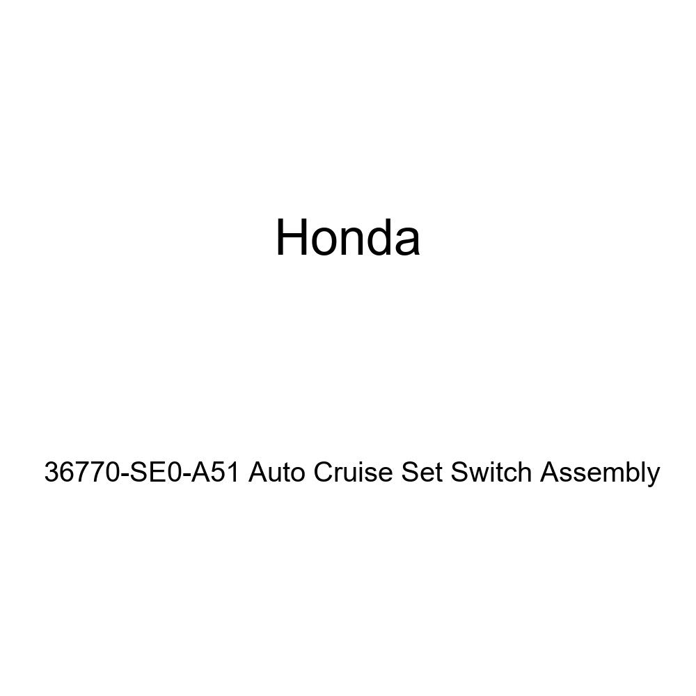 Genuine Honda 36770-SE0-A51 Auto Cruise Set Switch Assembly