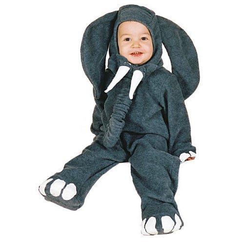 [Elephant Infant/Toddler Costume Infant (6-12 Months)] (Hippo Costume For Toddler)