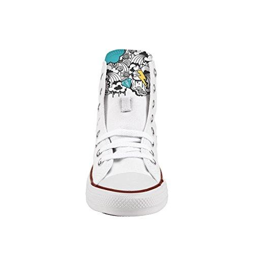 Scarpe Cloud sneakers Alta stampa Star All Personalizzate Converse UOrz0U