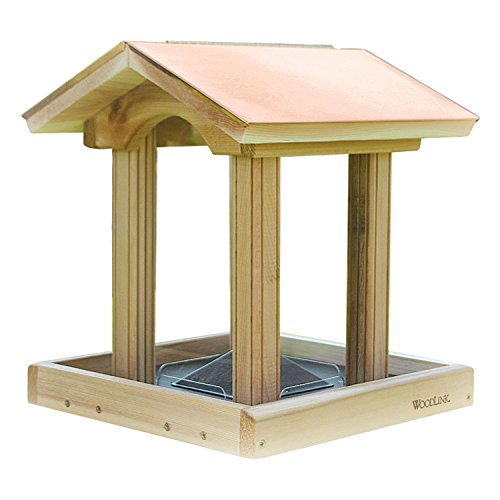 Woodlink Coppertop Hopper Bird Feeder ()