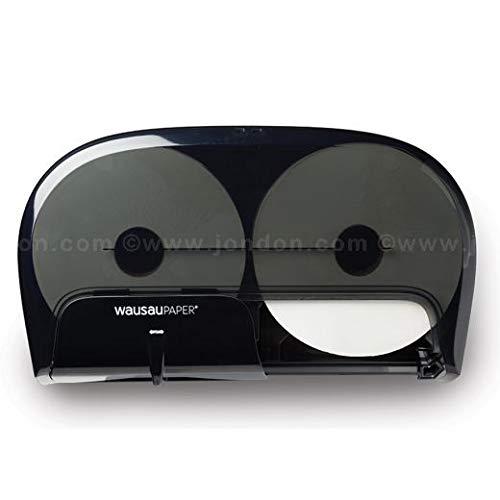 DublServ HC 80400 High‑Capacity Toilet Tissue Dispenser, Black