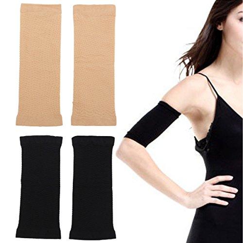 Rorosart Arm Shaper, Shapewear, Arm Slimmer, Arm Control Shapewear (Beige)