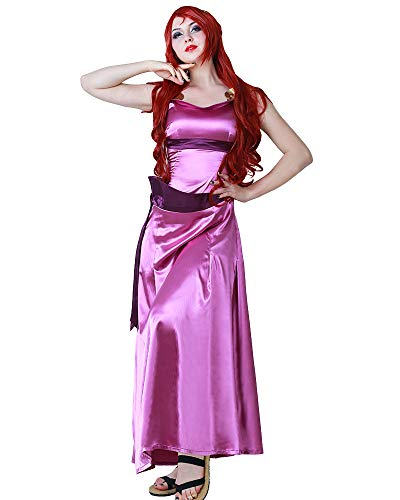 Cosplay.fm Women's Princess Megara Costume Cosplay Dress Halloween (L)