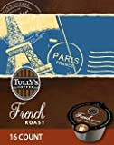 192 Count, Tully's French Roast VUE Packs For Keurig Vue Brewers (12 - 16 ct VUE Pack)