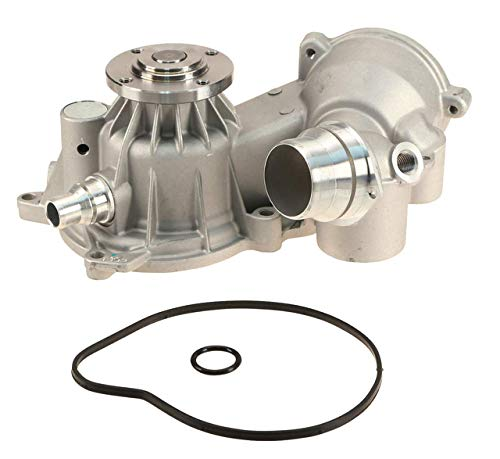 Engine Coolant Water Pump Assembly with Gasket & O-ring for ()