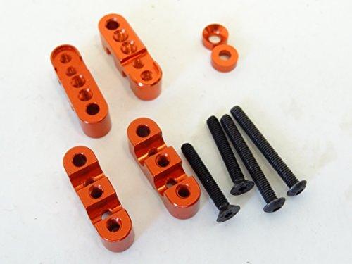1/5 Rovan Aluminum Rear Sway Bar Anti Roll Bar Mounts Fits HPI Baja 5B 5T 5SC KM