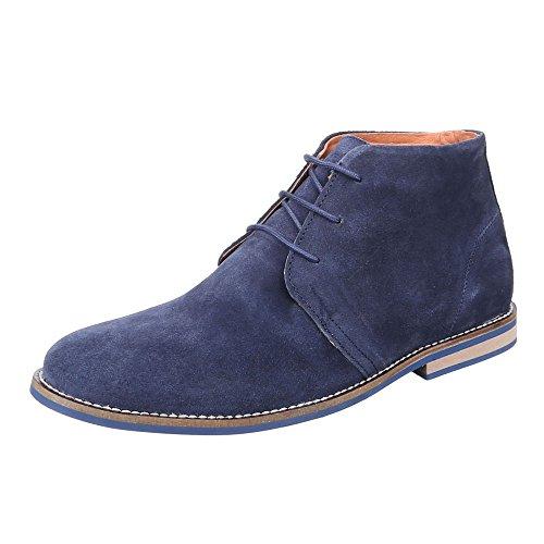 Ital-Design - Botas Desert Hombre azul oscuro