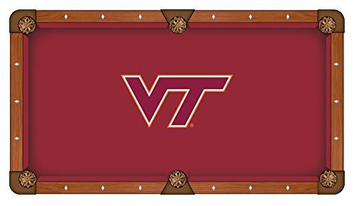 NCAA 9ft Pool Table Cloth by Holland Bar Stool - Virginia Tech